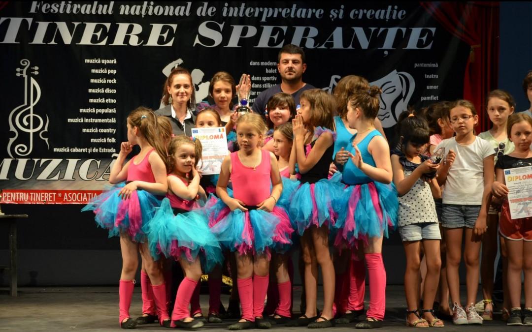 """Concursul de dans, muzica si teatru """"Tinere Sperante"""", 2015 – Botosani"""