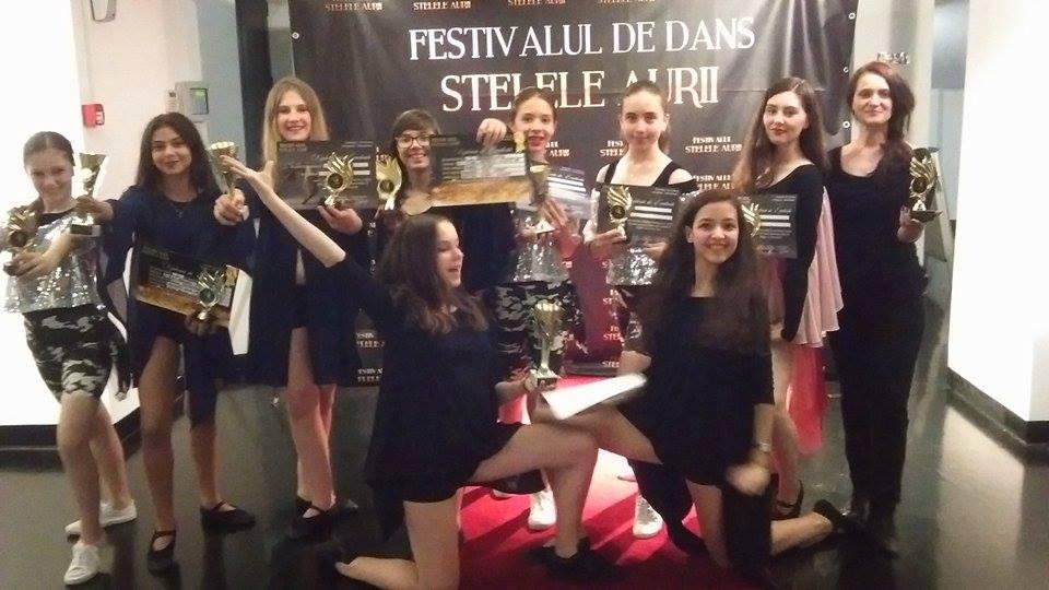 """Festivalul de dans """"Stelele Aurii"""" – Bucuresti 2016"""